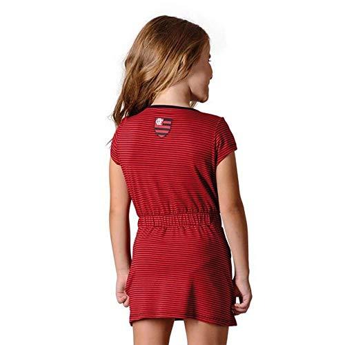Vestido Flamengo Infantil Noob Braziline GG 479c38a27fa4d