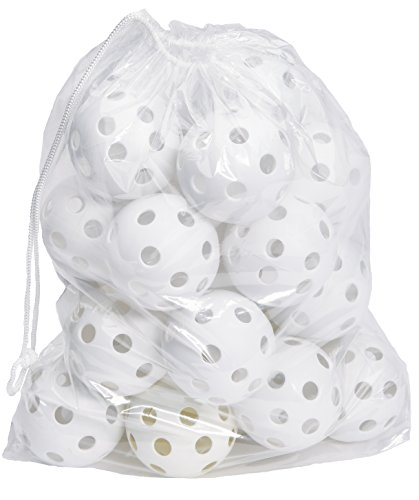 Hot Glove Bag of 25 White Practice Softballs by Hot Glove