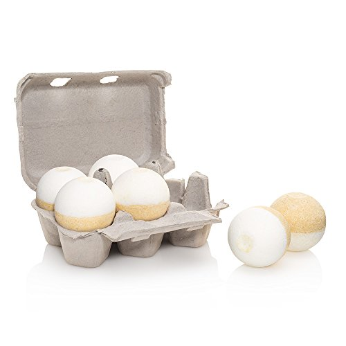 Level Naturals Six-Pack of Ultra Luxe Spa Bath Bombs (Lemon Coconut) (Level Naturals Body)