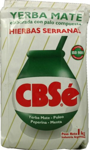 Cheap Yerba Mate CBSe Herbal Blend, 2.2 lbs, from Argentina