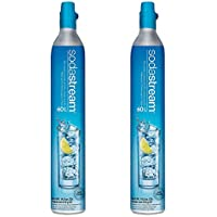 Sodastream 60L Co2 Carbonator, 14.5oz, Set of 2