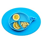 Little Dreams Oval Silicone Placemat For Food, Silicone Mini Mat - Children's Placemat, Suitable For Baby Toddlers, Microwave & Dishwasher Friendly, Made With Food Grade Silicone, Safety Assured