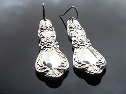 International Heritage Earrings Silverplate 1968 (International Vintage Silverplate)
