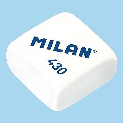 Caja 30 Gomas 430 de borrar MILAN modelo CMM430 Colores Surtidos ...