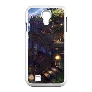 Samsung Galaxy S4 casos anti-caída de la ciudad, Fantasía para Samsung Galaxy S4 para [blanco] globalpowder
