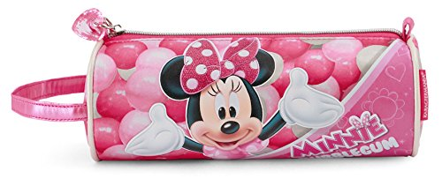 Minnie Mouse Bubblegum Federmäppchen, 22 cm, Rosa