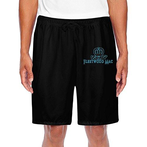 ZOENA Men's Best Fleety Weedy Flower Macy Workout Pants Black Size 3X ()