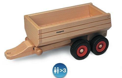 Fagus Wooden Container Tipper Trailer (13 Inch)