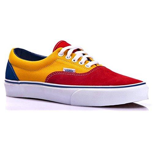 Vans Era, Zapatillas de skate Unisex Red/Gold Fusion