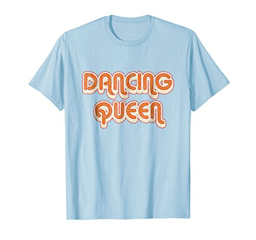 DANCING QUEEN Vintage Large Print w/Shadow 1970's -
