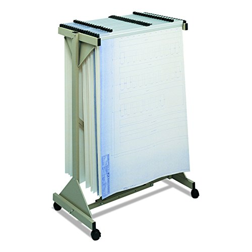 Safco Vertical Roll File (Safco Products 5060 Mobile Plan Center, Tropic Sand)