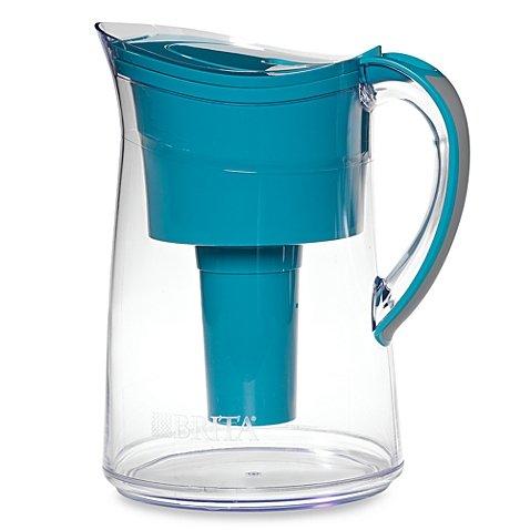 Brita® Capri 10-cup Water Filter Pitcher Turquoise
