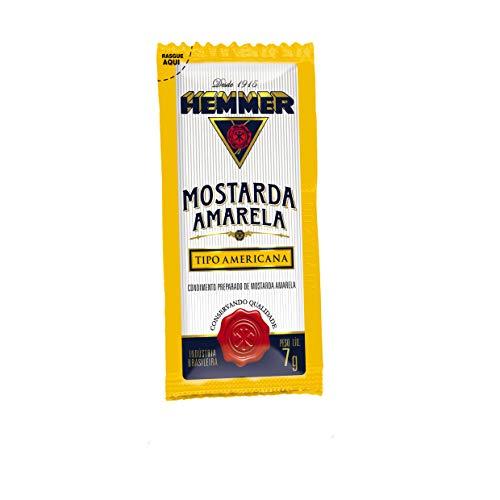 Mostarda Hemmer com 190 Sachês de 7g