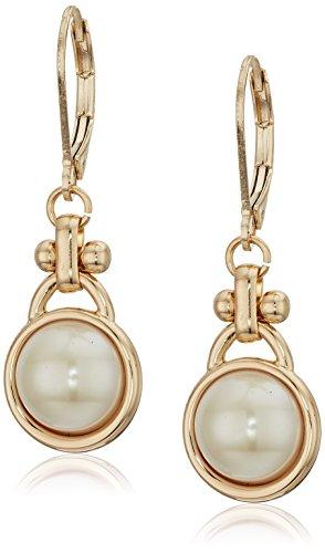 Anne Tone Klein Gold Earrings (Anne Klein Gold Tone Pearl Drop Earrings)