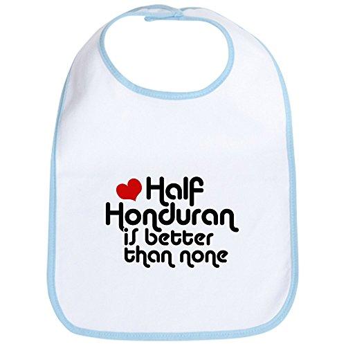 CafePress - Half Honduran Bib - Cute Cloth Baby Bib, Toddler Bib