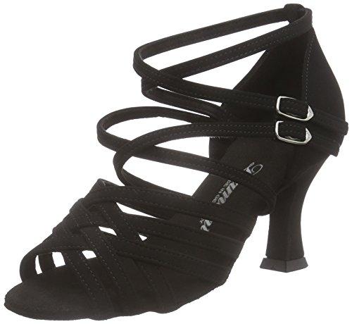 Diamant 060 Noir Tanzschuhe Damen Chaussures 108 Latein de de Salon Femme 040 Noir Danse rqr6p