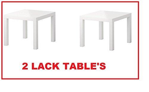 ikea black side table - 5