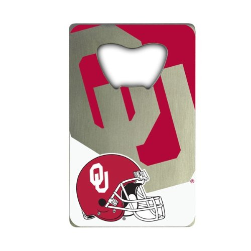 NCAA Oklahoma Sooners Credit Card Style Bottle Opener ()