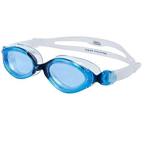 Zoggs Womens Opti Fit L Xl Swim Goggles Blue Blue