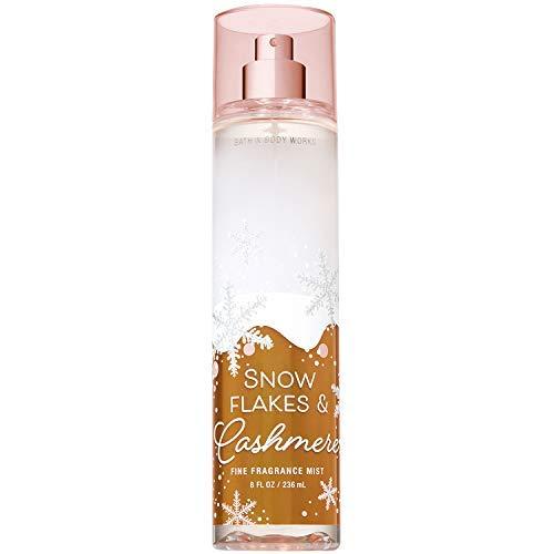 Bath & Body Works Snow Flakes & Cashmere Fine Fragrance Mist, 8 Ounce