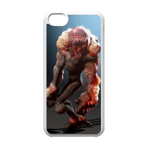 Sunset Overdrive 14 coque iPhone 5c cellulaire cas coque de téléphone cas blanche couverture de téléphone portable EEECBCAAN05795
