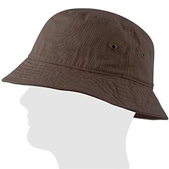 0b4d87c0afe USBingoshop Men Women Unisex Cotton Plain Color Boonie Safari Fishing Bucket  Hat at Amazon Men s Clothing store