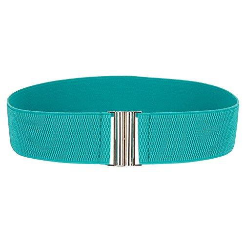 BecyWell Women Girls Fashion Stretch Wide Waist Belt