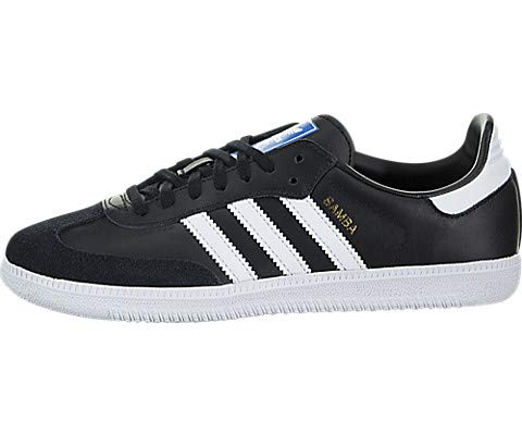 Action Leather Footwear - adidas Originals Baby Samba Og J Sneaker, core Black FTWR White, 4.5 M US Toddler