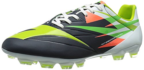 摘む症候群寝室Diadora DD-NA 2 GLX1 Soccer Cleat Tuareg Blue/Fluorescent Green 10 D(M) US [並行輸入品]