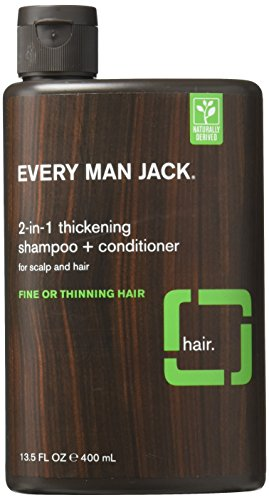 Every Man Jack 2-in-1 Thickening Shampoo & Conditioner 13.50 oz