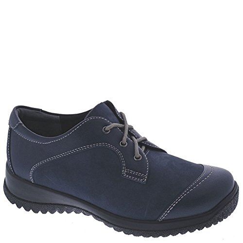 Hope Nubuck Oxfords Shoe Leather Fashion Denim Therapeutic Drew Lea Women's RYEUqwUz