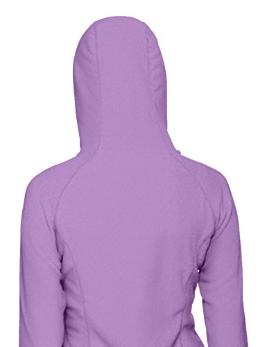 The North Face Jacke W Mezzaluna Full Zip Hoodie Eu Chaqueta, Mujer Morado (Bellflower Purple)