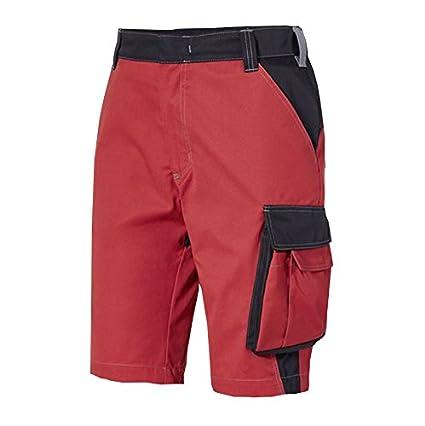 44 PIONIER 539244/Concept Bermuda de trabajo negro//rojo