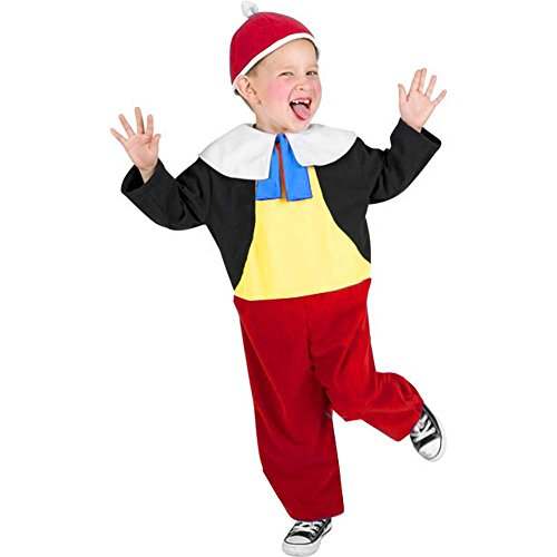 Tweedle Dee And Tweedle Dum Fancy Dress Costume (Kid's Tweedle Dee Halloween Costume (Size: Small))