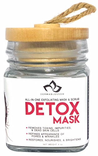 Detox Multi-Clay Face Mask | Calcium Bentonite | Indian Clay