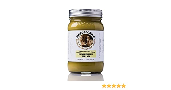 Amazon.com : Barcelonas All Natural, Gluten Free, Mole Verde (Pumpkin Seed Pipian) Gourmet Cooking Sauce 16 Oz. Jar : Barbecue Sauces : Grocery & Gourmet ...