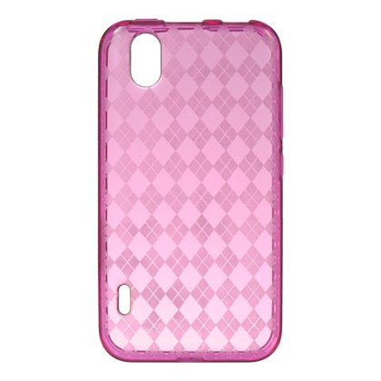 DreamWireless CSLGLS855HPCK LG Marquee & Ls855 Crystal Skin Case Hot Pink Checker