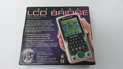 Electronic Bridge Games (Excalibur Deluxe LCD Bridge)