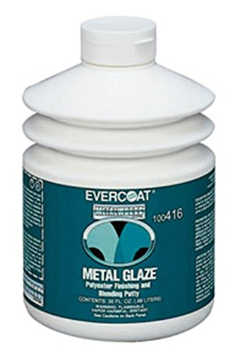 Putty Glazing (Fibreglass Evercoat 416 Metal Glaze Polyester Finishing and Blending Putty - 30 Oz. Pump)