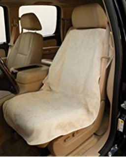 Amazon.com: TAN Car and Truck Towel Seat Cover Keeps your seats ...