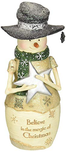 Pavilion Gift Company Pavilion-Believe in The Magic of Christmas-6 Inch Collectible Figurine 6