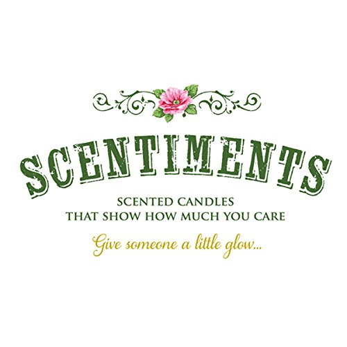 scentiments anniversary gift candle lavender scented