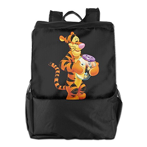 GTSOXI Outdoor Travel Backpack Bags - Transparent Tigger The Cartoon Show Backpack Daypack Bookbags Casual Bag For Girl Boy Man (Female X Men Characters)