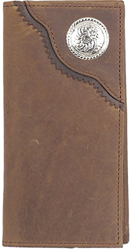 Western 3D 3D Brown Wallet Rodeo Brown tYPSqxF