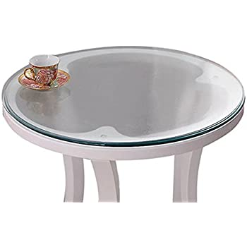 Amazon Com Soft Glass Table Cover Round Clear Table Top