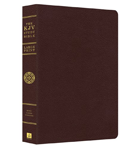 The KJV Study Bible - Large Print (King James Bible)