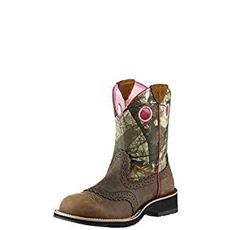 ARIAT Women's Fatbaby Collection Boot Western Cowboy