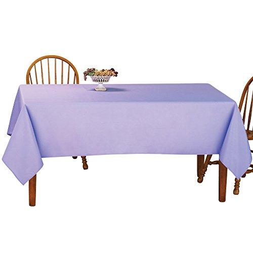 Tablecloth Basic (Basic Solid Color Rectangular Tablecloth Linen, 60