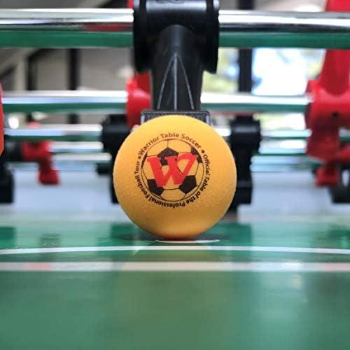 8 Guerrero mesa pelotas de fútbol Pro juego Foos: Amazon.es: Deportes y aire libre