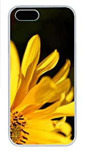 case mate cases Yellow Flower Petals PC White Case for iphone 5/5S
